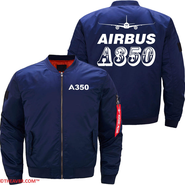 MA1 Jacket Dark blue thin / XS AIRBUS A350 DESIGNED JACKET