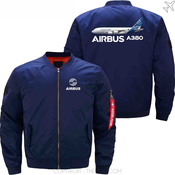 MA1 Jacket Dark blue thin / XS Airbus A380