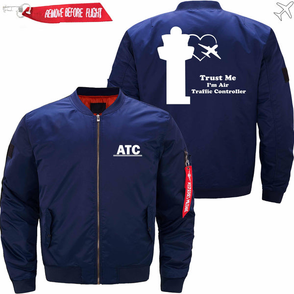 MA1 Jacket Dark blue thin / XS Trust Me-ATC