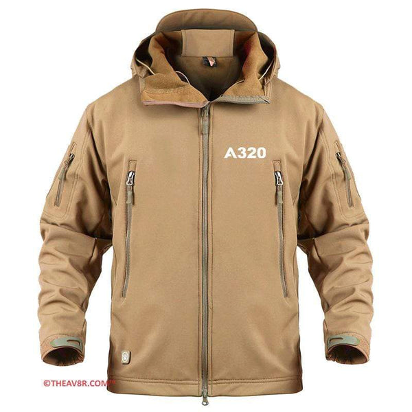 AIRPLANE LOVER Military Fleece AIRBUS A320 DESIGNED MILITARY FLEECE