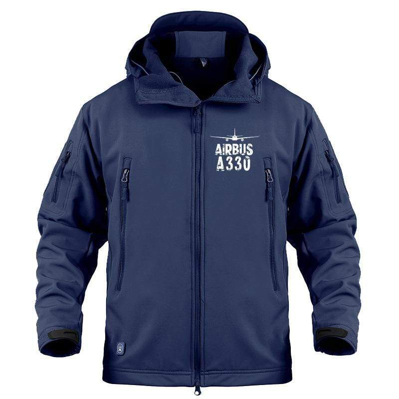 AIRPLANE LOVER Military Fleece Airbus A330