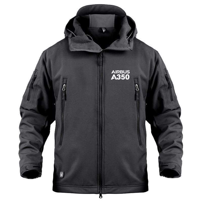 AIRPLANE LOVER Military Fleece AIRBUS A350 DESIGNED HOODIE
