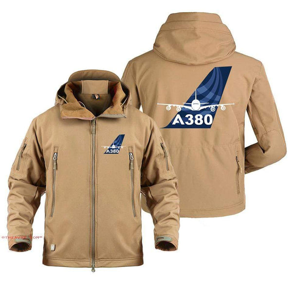 AIRPLANE LOVER Military Fleece AIRBUS A380 DESIGNE MILITARY FLEECE