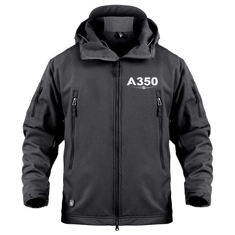 AIRPLANE LOVER Military Fleece Black / S A 350