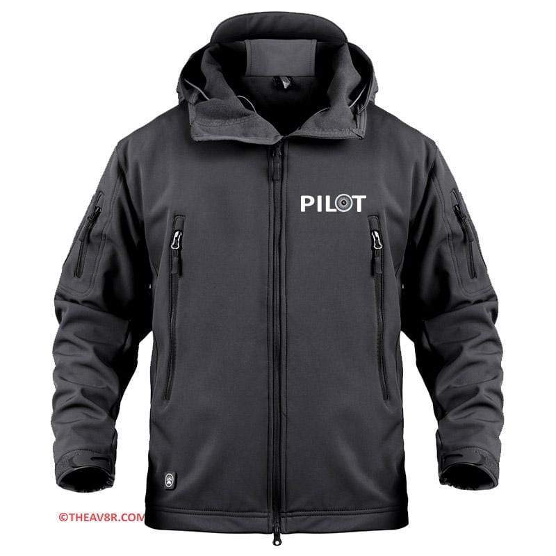 AIRPLANE LOVER Military Fleece Black / S PILOT DESIGNEE MILITARY FLEECE