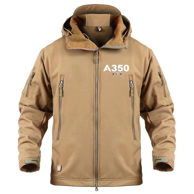 AIRPLANE LOVER Military Fleece Sand / S Airbus A350