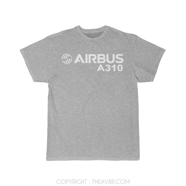 Airplane T-Shirt Athletic Heather / S Airbus A310 T-shirts