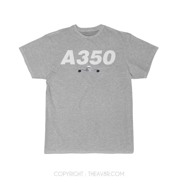 Airplane T-Shirt Athletic Heather / S Airbus A350 T-shirts