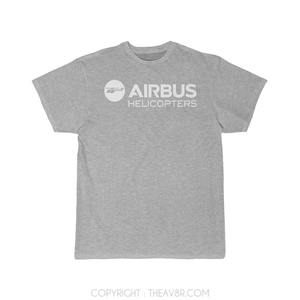 Airplane T-Shirt Athletic Heather / S Airbus Helicopter T-shirts