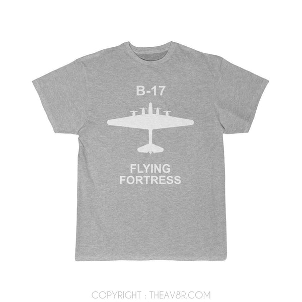 Airplane T-Shirt Athletic Heather / S B17 T-shirts