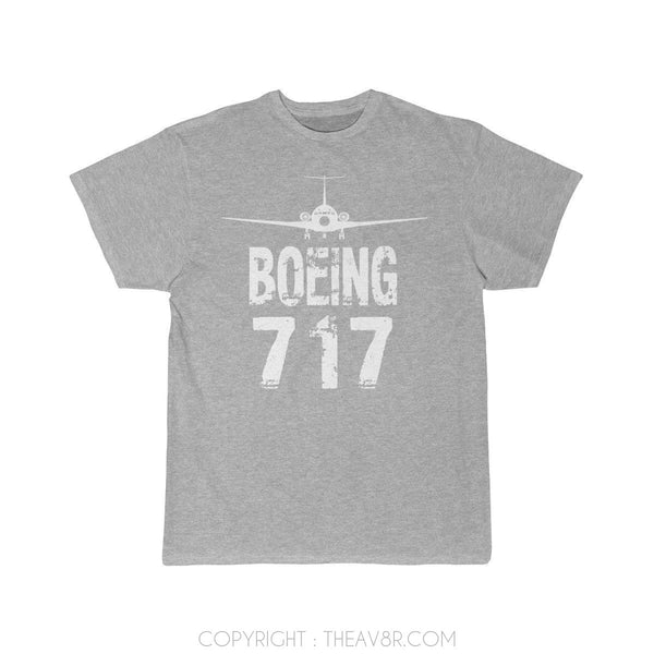 Airplane T-Shirt Athletic Heather / S Boeing 717 T-shirts