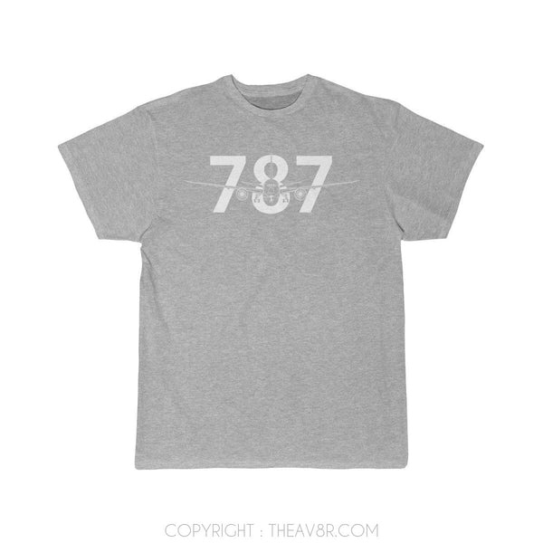 Airplane T-Shirt Athletic Heather / S Boeing 787 T-shirts