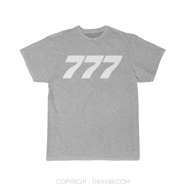 Airplane T-Shirt Athletic Heather / S Boeing B777 T-shirts