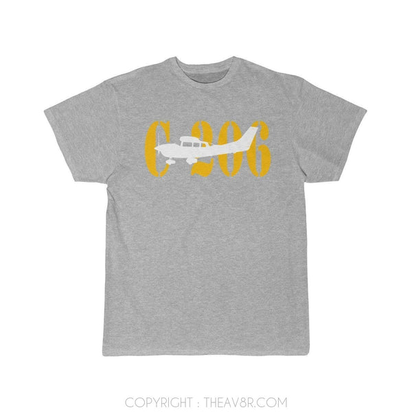 Airplane T-Shirt Athletic Heather / S C 206 T-shirts