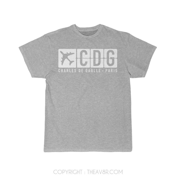 Airplane T-Shirt Athletic Heather / S CDG T-shirts