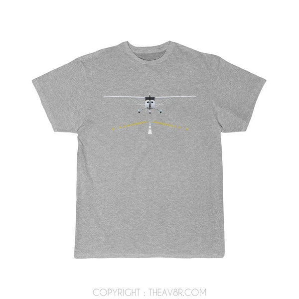 Printify T-Shirt Athletic Heather / S Cessna 172 Aircraft
