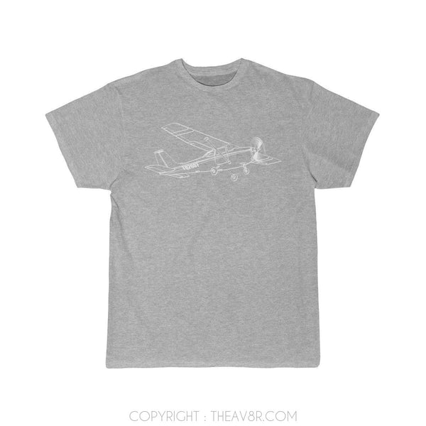 Airplane T-Shirt Athletic Heather / S Cessna T-shirts