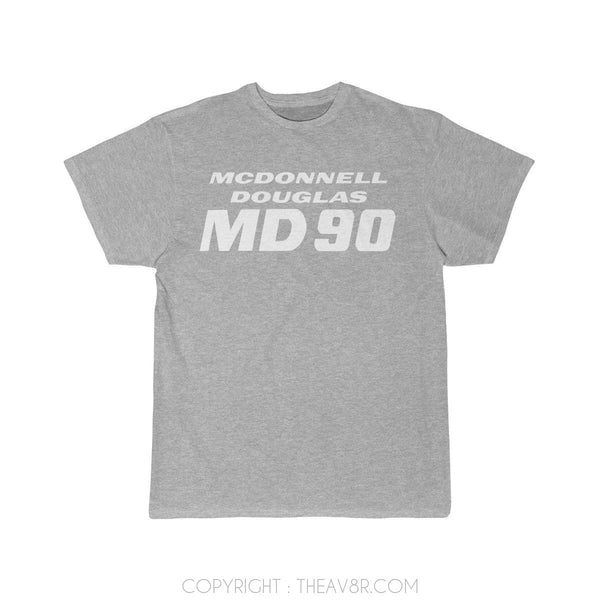 Airplane T-Shirt Athletic Heather / S MACDONAL DOGLUS MD 90 T-shirts