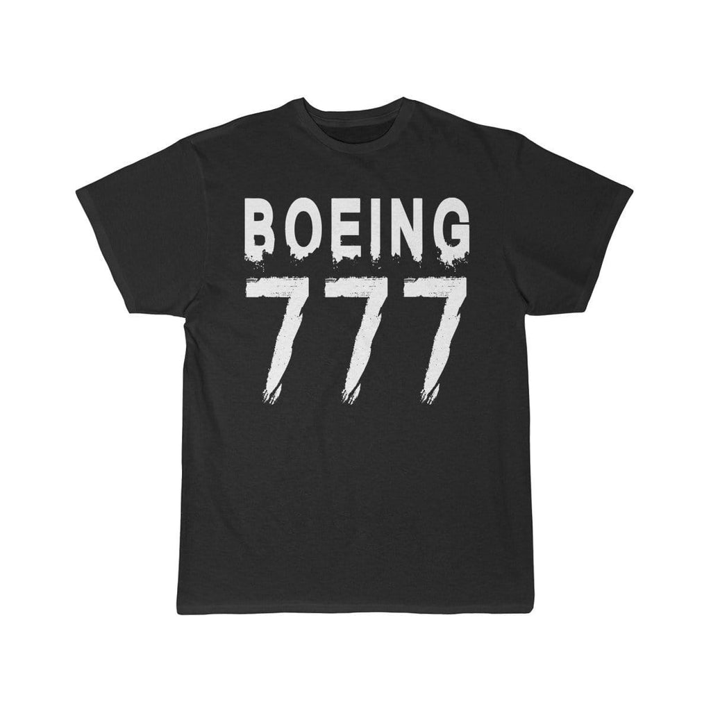 Airplane T-Shirt Black / L Boeing 777 T-shirts