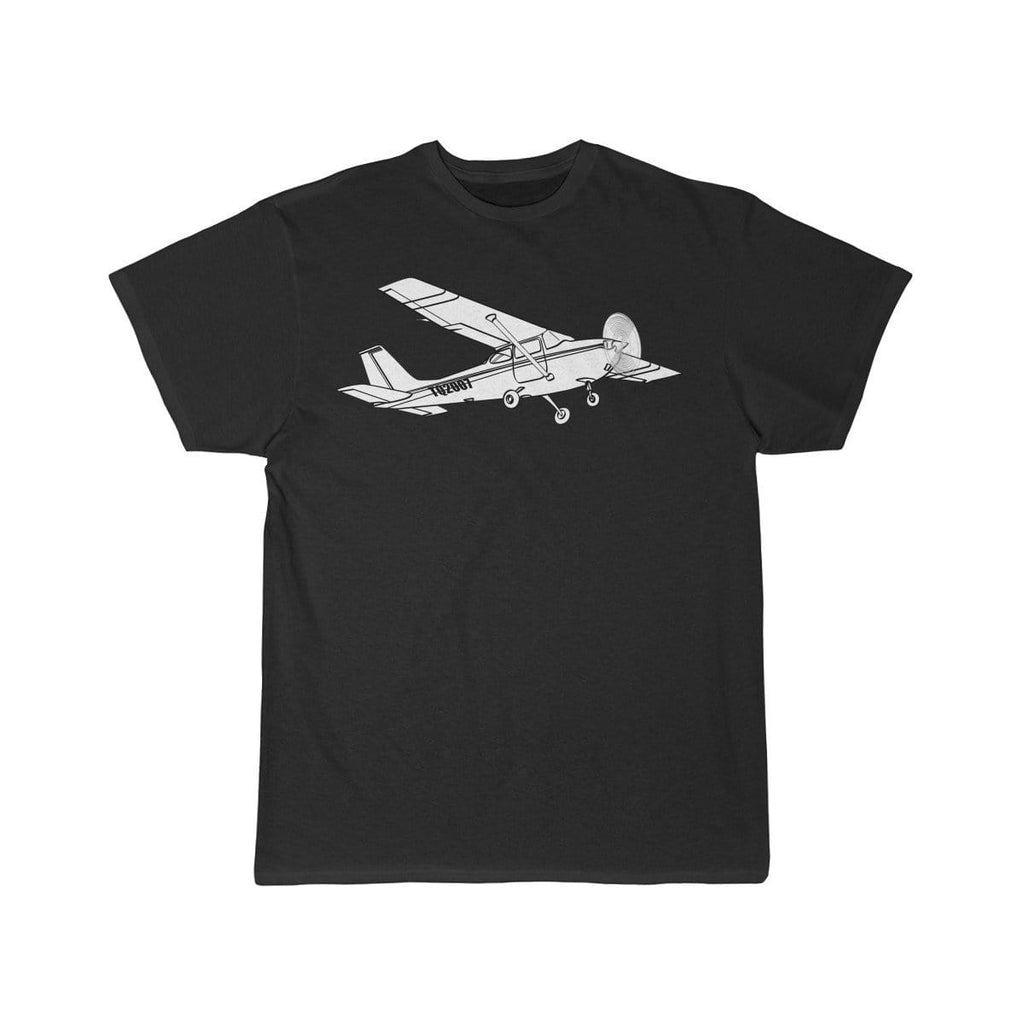 Airplane T-Shirt Black / L Cessna T-shirts