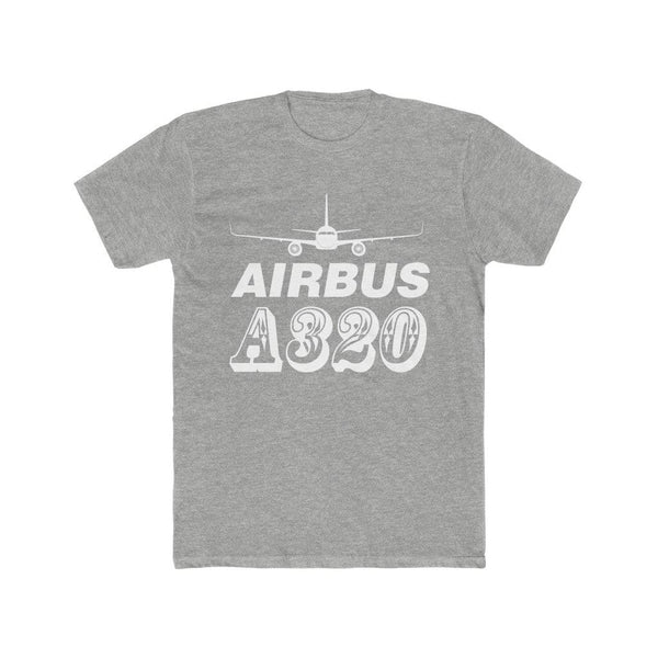Printify T-Shirt Heather Grey / S Airbus A320
