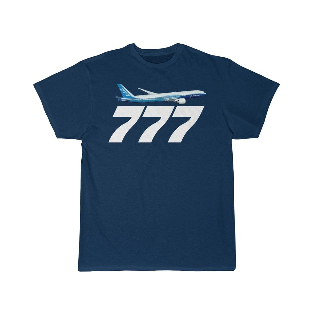 Airplane T-Shirt Navy / L Boeing 777 T-shirts