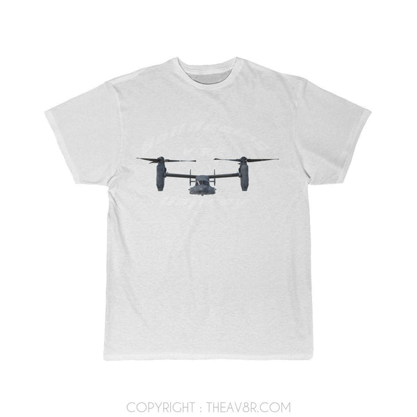Airplane T-Shirt White / S Bell Boeing V-22 Osprey T-shirts