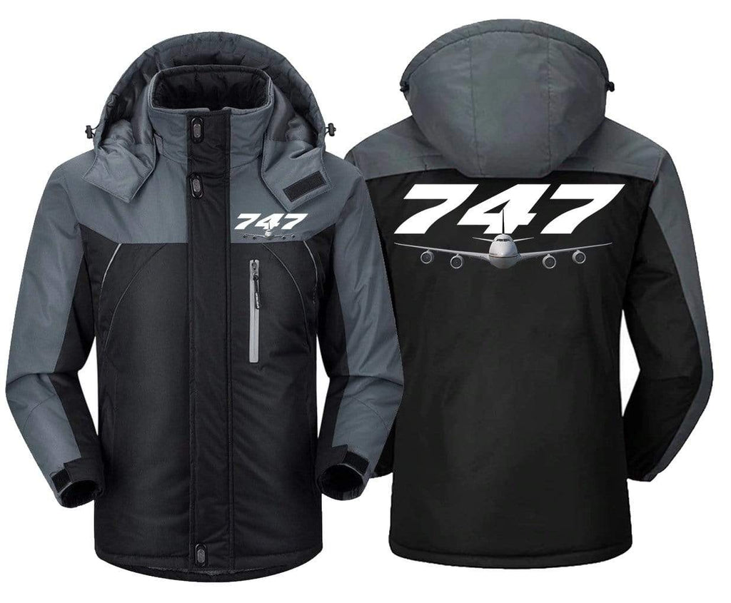 MA1 Windbreaker Black Gray / XS B -747