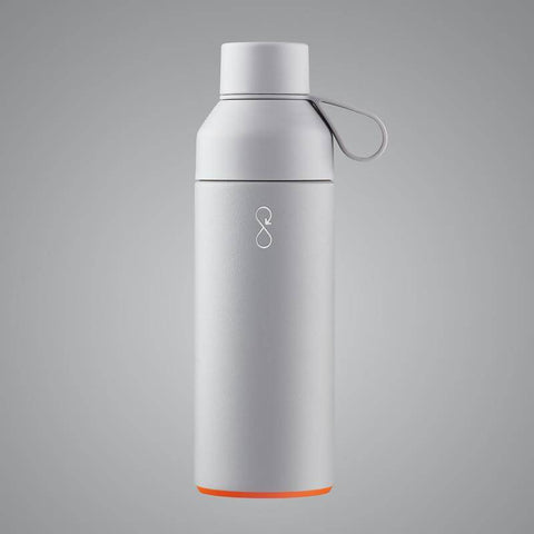 Ocean bottle. Reusable thermal flask. Reusable water bottle