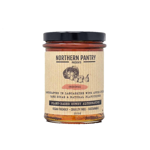 Vegan honey alternative. Plant based honey alternative