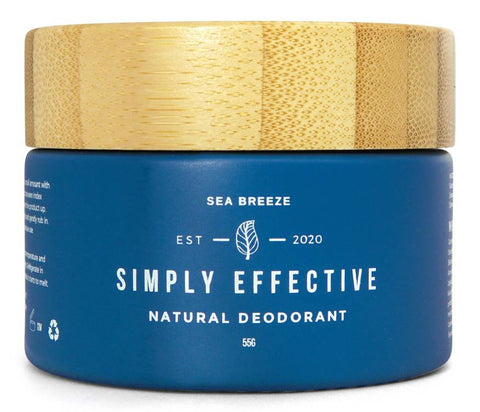 Simply Effective - Sea Breeze - Natural Deodorant Cream