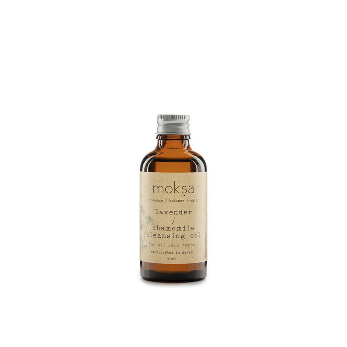Lavender & Chamomile Natural Cleansing Oil | Eco Friendly cleansing oil