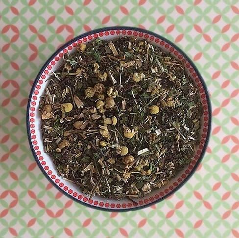 Happy Tummy Tea- Digestion IBS Relief Loose Tea - Just Think Eco