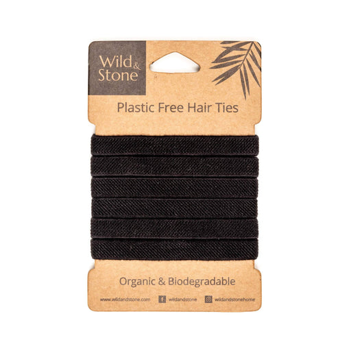 Hair Ties - Plastic Free - 6 Pack - Just Think Eco