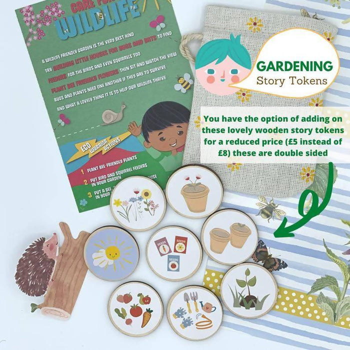 Gardening Gift Kids, Eco Friendly Nature Activity Pack Xmas Stocking Filler, Plastic Free Christmas Letterbox, Children Scavenger Hunt Game