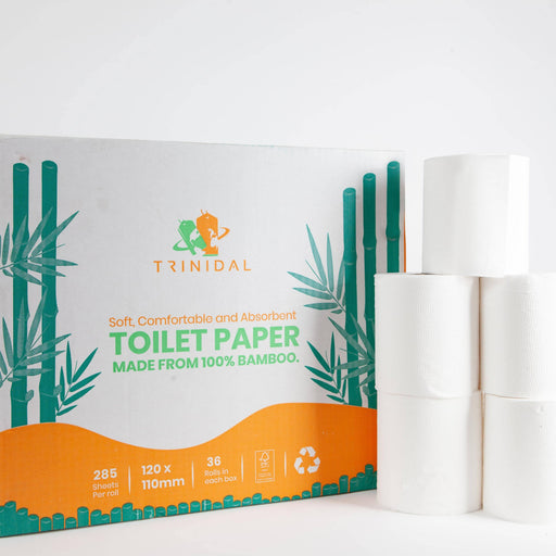 36 Ultra soft, Eco friendly 100% Bamboo toilet paper, Soft, Comfortable and Absorbent - Just Think Eco