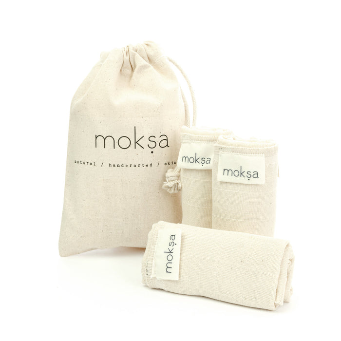 Organic Cotton Cleansing Cloth