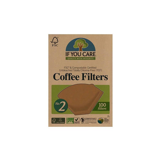 If You Care - Coffee Filters No.2 - Small (100s) - Just Think Eco