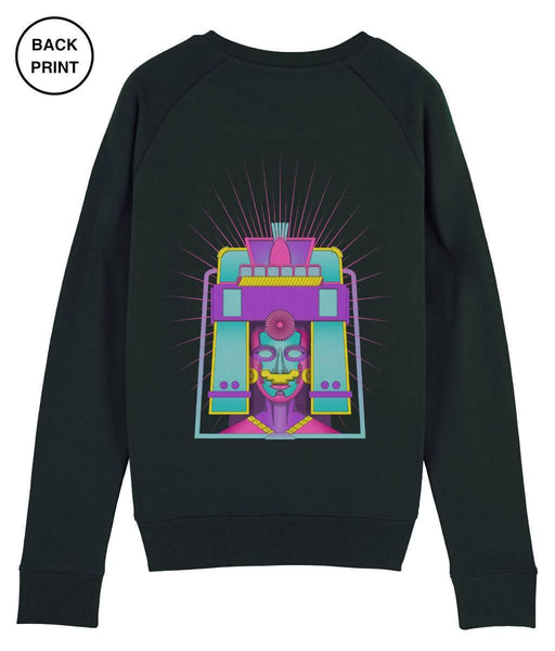 Cosmic Fangs Women 'Maize' Sustainable Sweatshirt - Just Think Eco