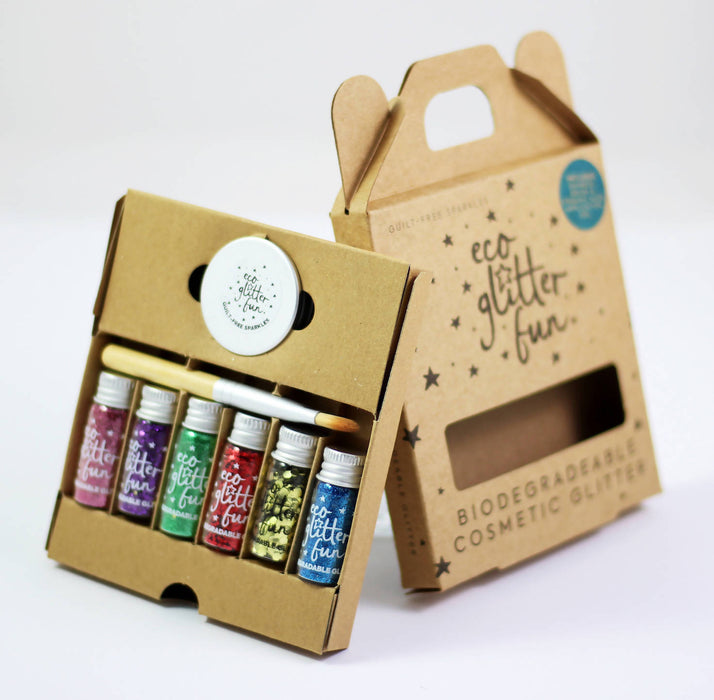 Eco Glitter Fun Sparkle 6pcs Boxed Kit