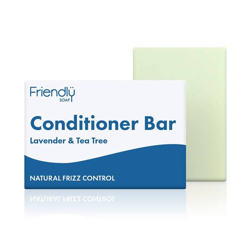 Friendly Soap - Lavender & Tea Tree Conditioner Bar 95g - Just Think Eco