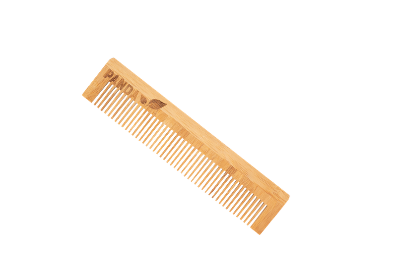 Sustainable Bamboo comb - Panda Packaging