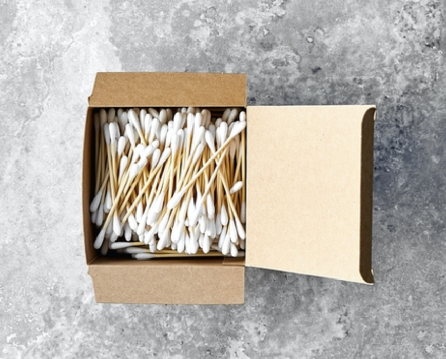 Sustainable Bamboo Cotton Buds - Panda Packaging