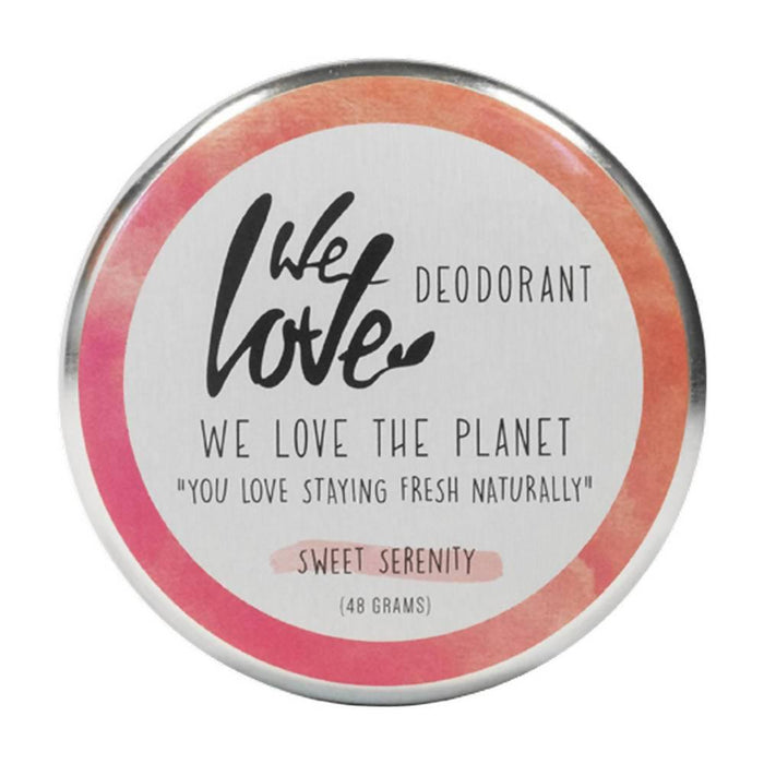 We Love the Planet - Sweet Serenity Cream Deodorant Tin 48g - Just Think Eco