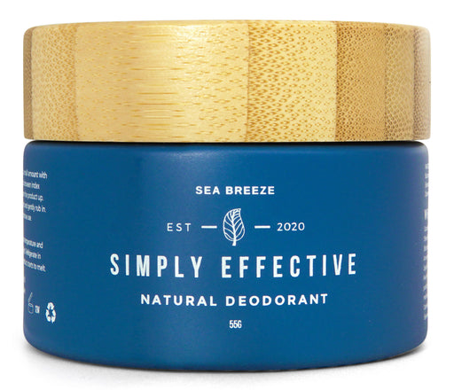 Simply Effective - Sea Breeze - Natural Deodorant Cream - Just Think Eco