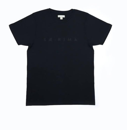 The Black Tee | SÆ-RIMA - Just Think Eco