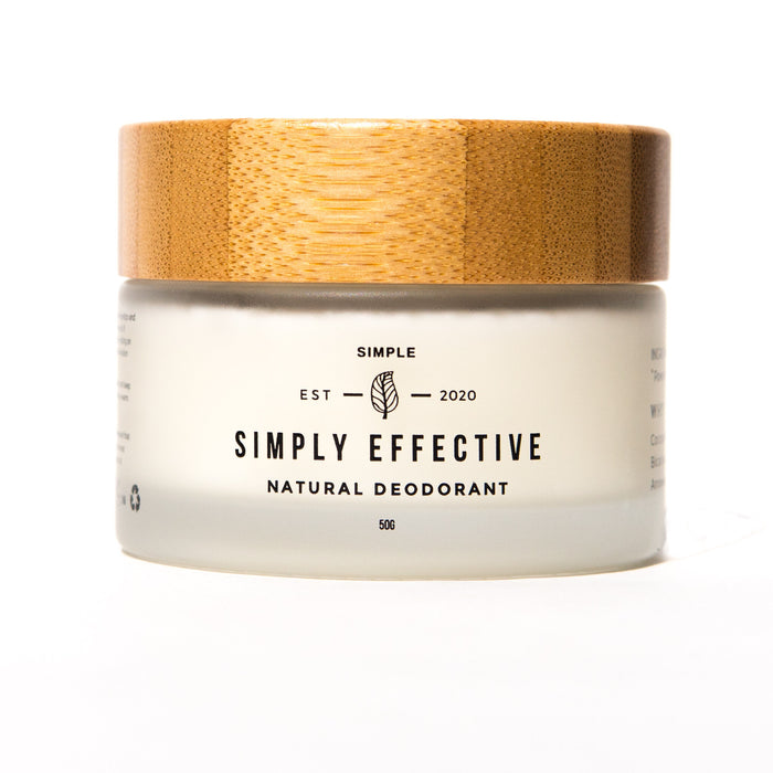 Simply effective - Simple - Natural deodorant cream