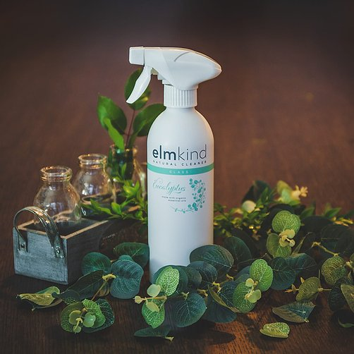 Eco friendly Eucalyptus Glass Cleaner