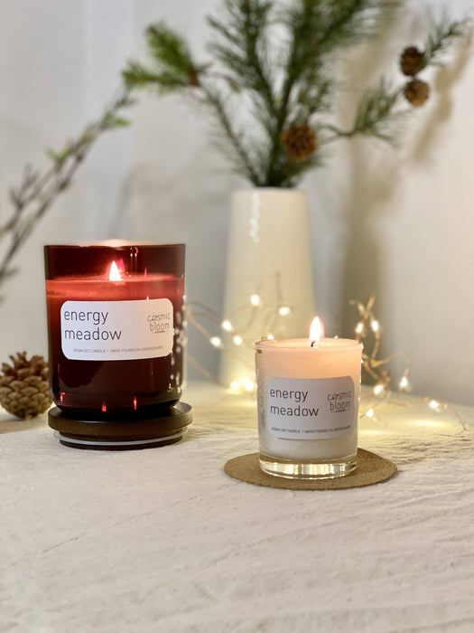 Energy Meadow soy candle