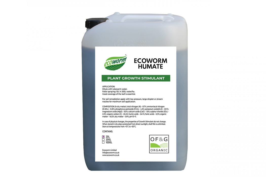 Ecoworm Humate 20L Eco friendly Natural fertiliser
